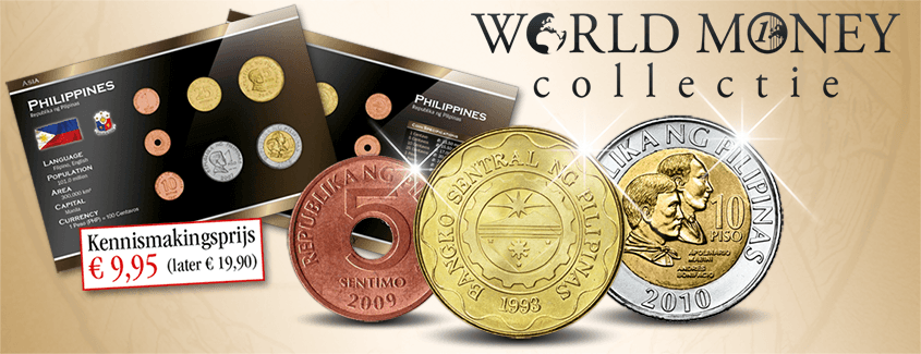 Officiële World Money Collectie reserveren
